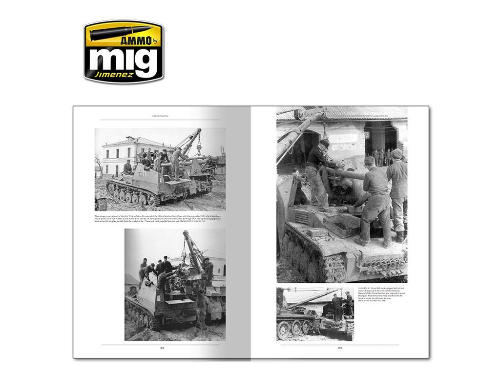 Italienfeldzug Carros de Combate y Vehiculos Alemanes 1943-1945 Vol 1 (Vista 11)