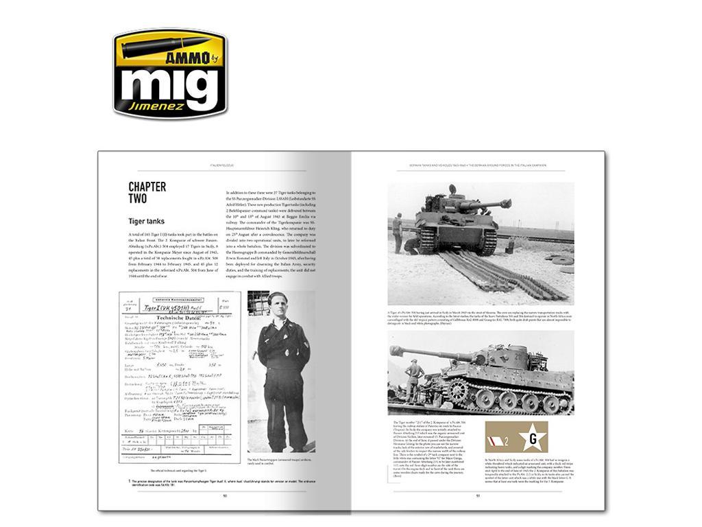 Italienfeldzug Carros de Combate y Vehiculos Alemanes 1943-1945 Vol 1 (Vista 3)