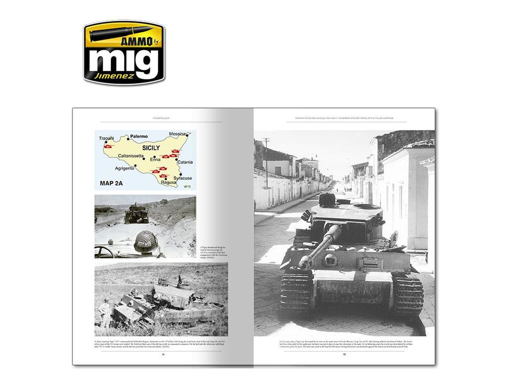 Italienfeldzug Carros de Combate y Vehiculos Alemanes 1943-1945 Vol 1 (Vista 4)