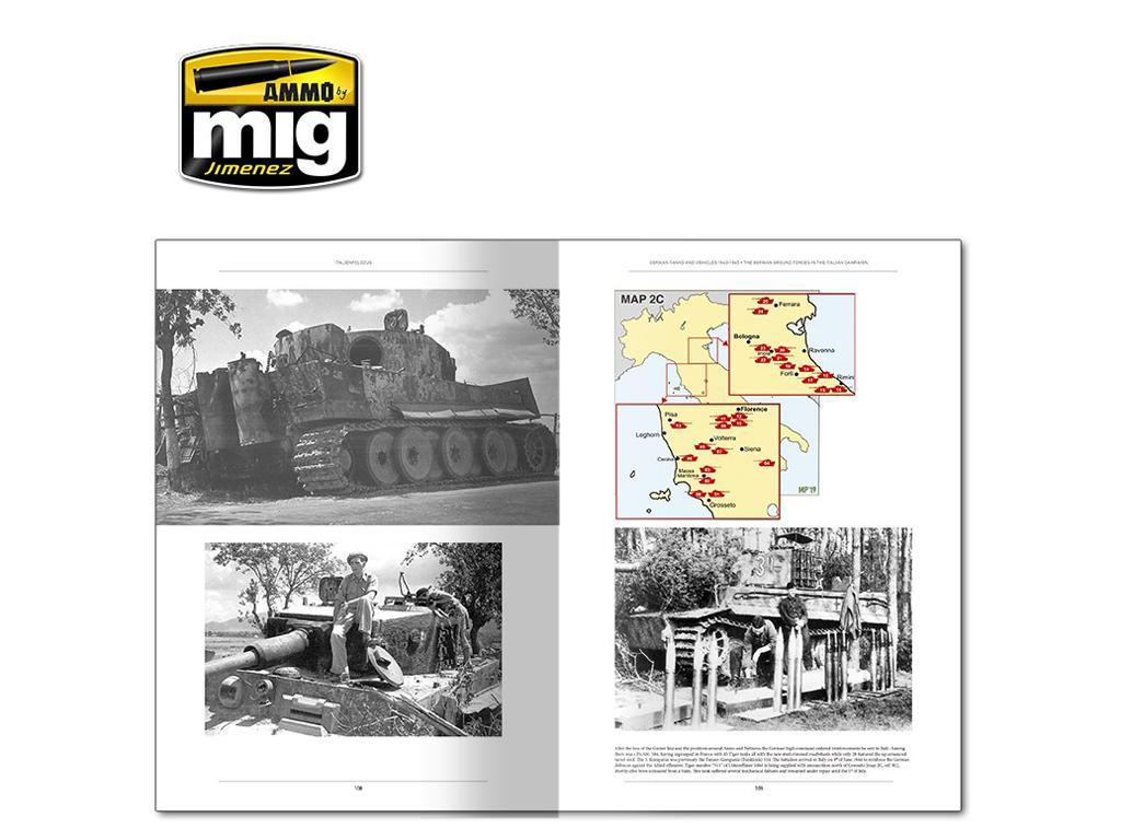 Italienfeldzug Carros de Combate y Vehiculos Alemanes 1943-1945 Vol 1 (Vista 6)