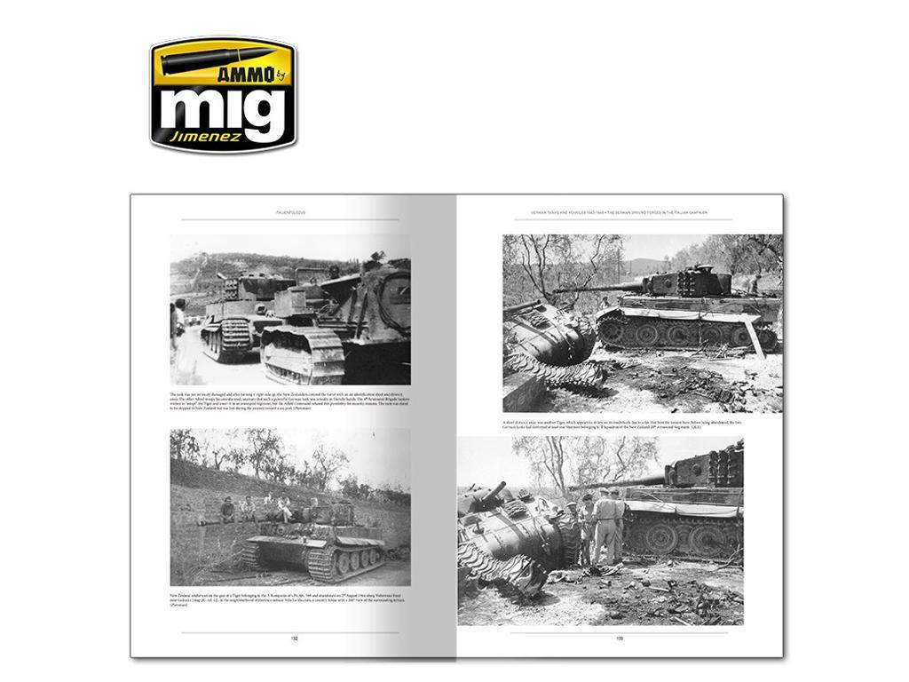 Italienfeldzug Carros de Combate y Vehiculos Alemanes 1943-1945 Vol 1 (Vista 7)