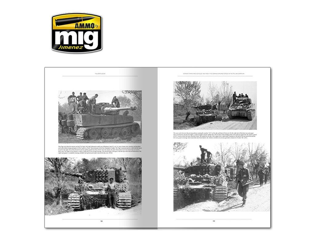 Italienfeldzug Carros de Combate y Vehiculos Alemanes 1943-1945 Vol 1 (Vista 8)