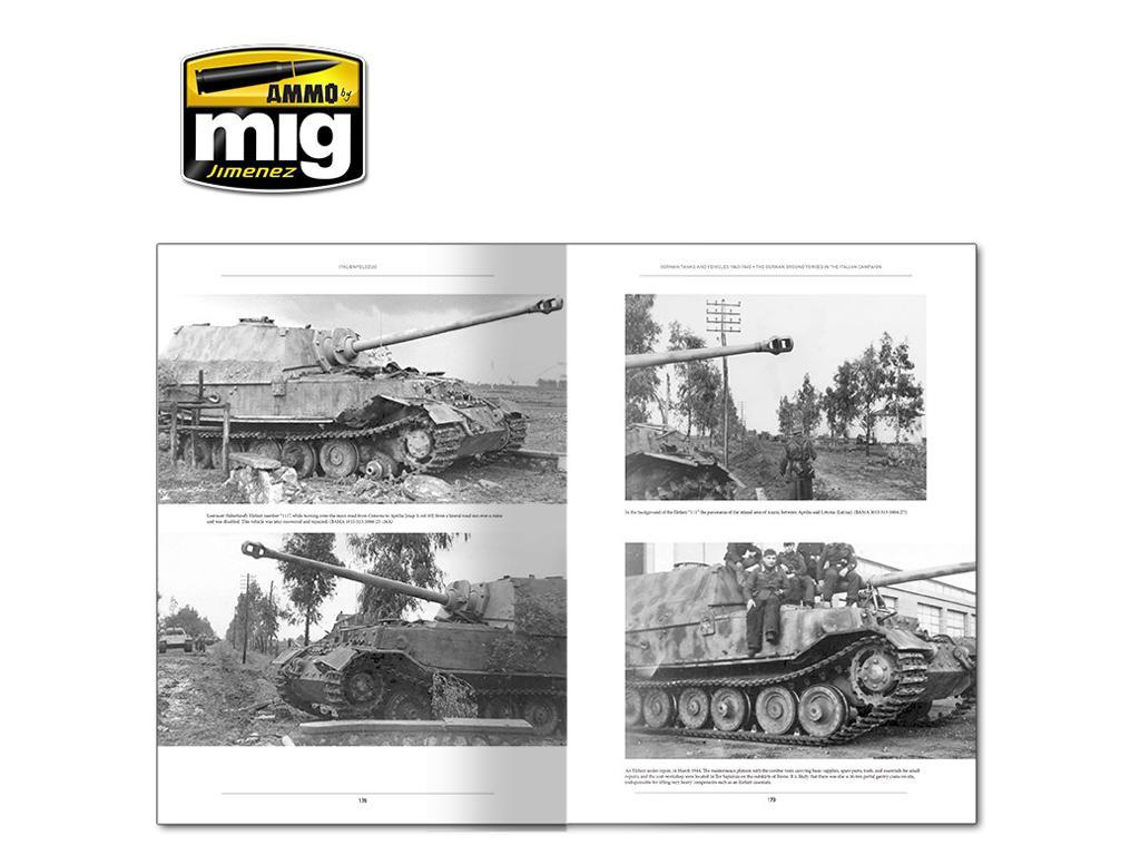Italienfeldzug Carros de Combate y Vehiculos Alemanes 1943-1945 Vol 1 (Vista 9)