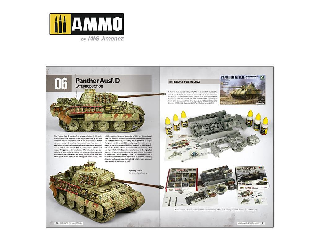 Panthers – Construyendo las Maquetas de TAKOM (Vista 4)