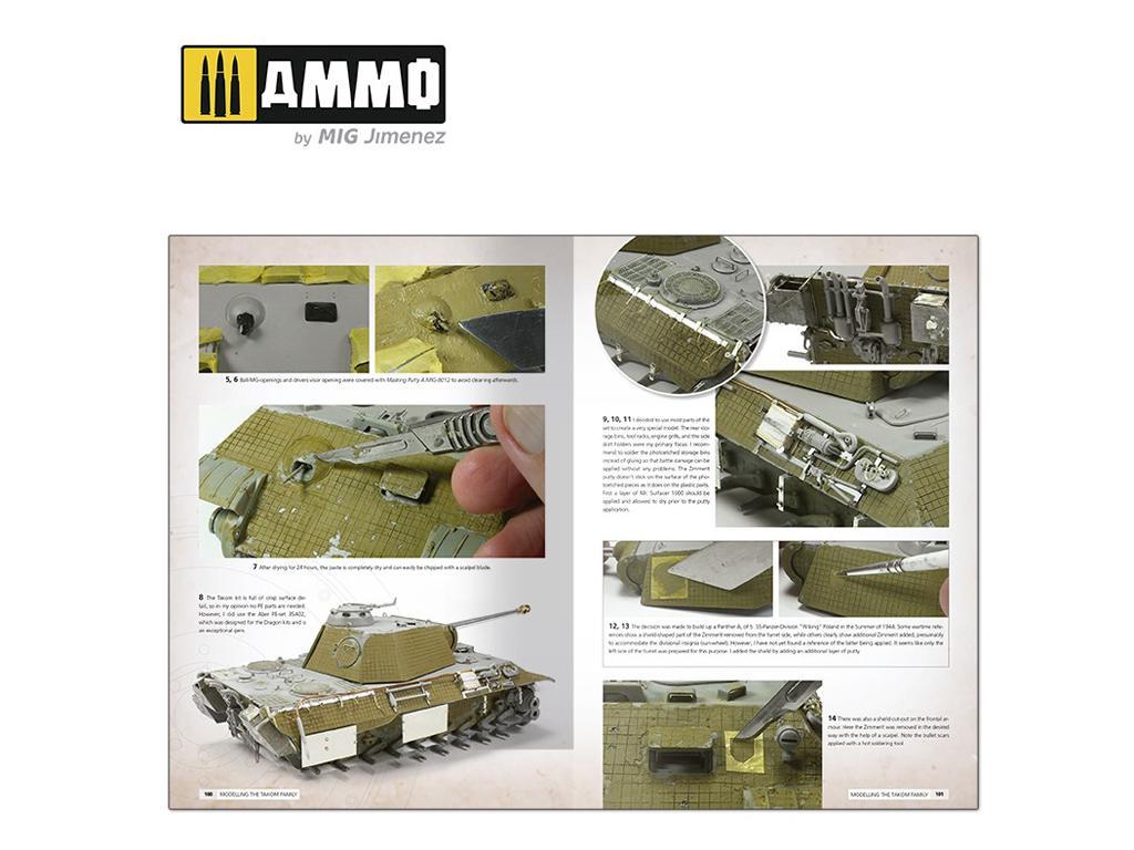 Panthers – Construyendo las Maquetas de TAKOM (Vista 6)