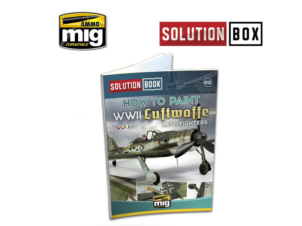 Luftwaffe Late Fighters Solution Book (Vista 1)