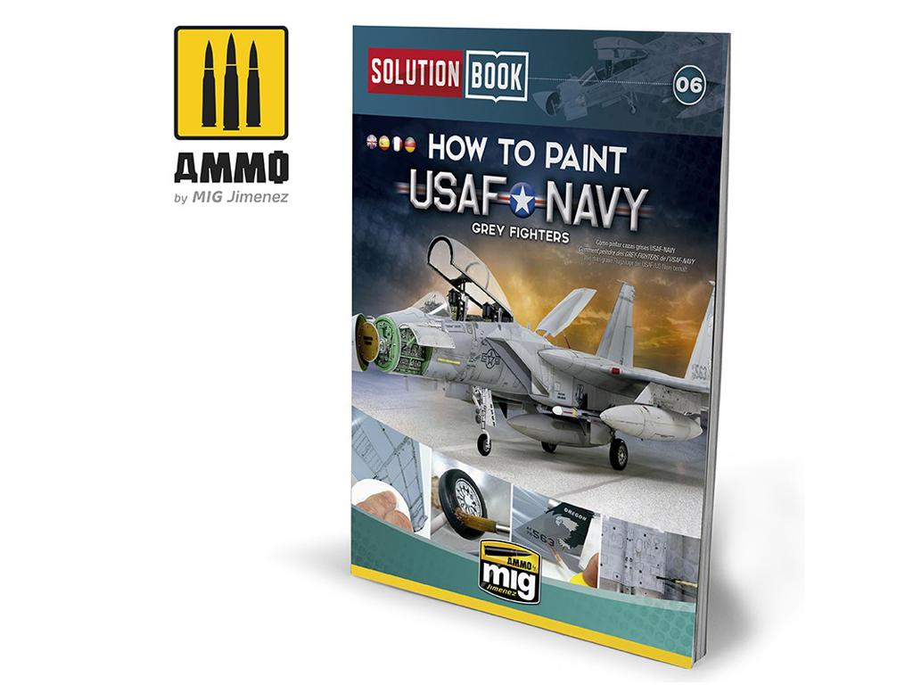How To Paint USAF Navy Grey Fighters (Vista 1)