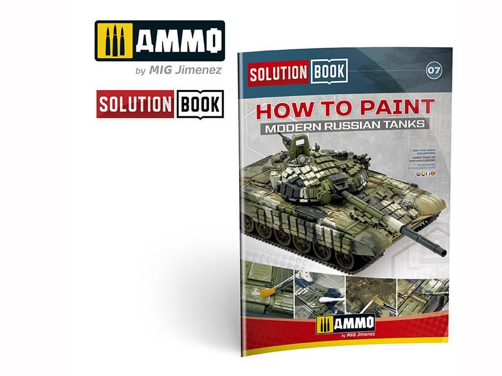 Solution Book. Como pintar carros Rusos Modernos  (Vista 1)