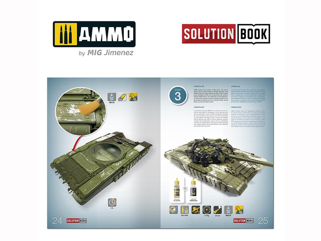 Solution Book. Como pintar carros Rusos Modernos  (Vista 7)