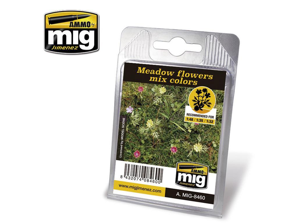 Flores de Pasto Mezcla Colores (Vista 1)
