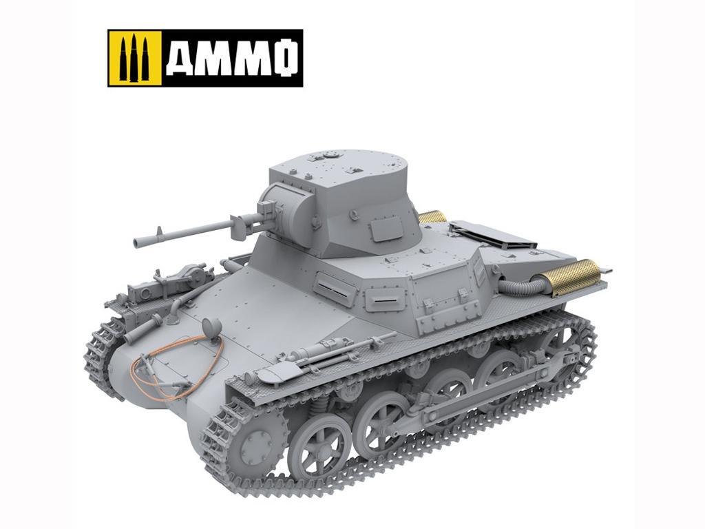 Panzer I Ausf. A Breda, tanque ligero de la Guerra Civil Española (Vista 11)