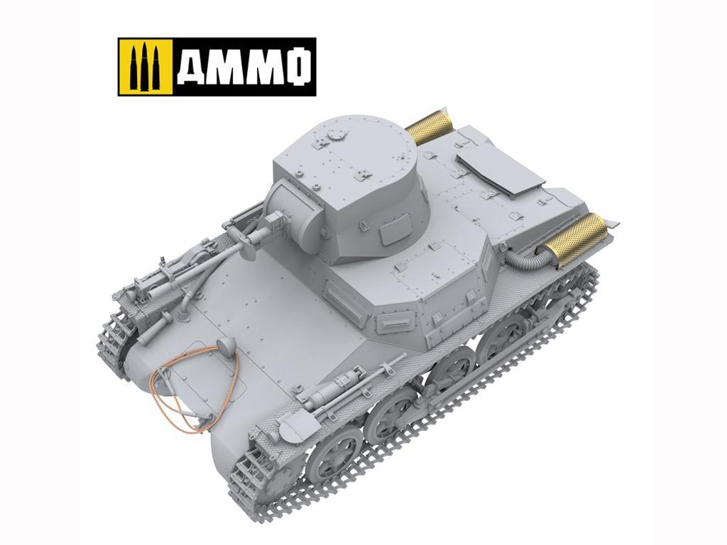 Panzer I Ausf. A Breda, tanque ligero de la Guerra Civil Española (Vista 12)