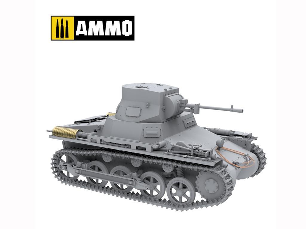 Panzer I Ausf. A Breda, tanque ligero de la Guerra Civil Española (Vista 13)