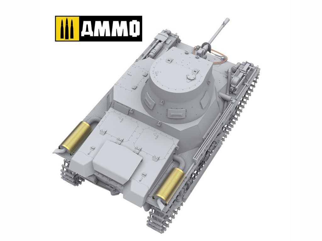 Panzer I Ausf. A Breda, tanque ligero de la Guerra Civil Española (Vista 14)