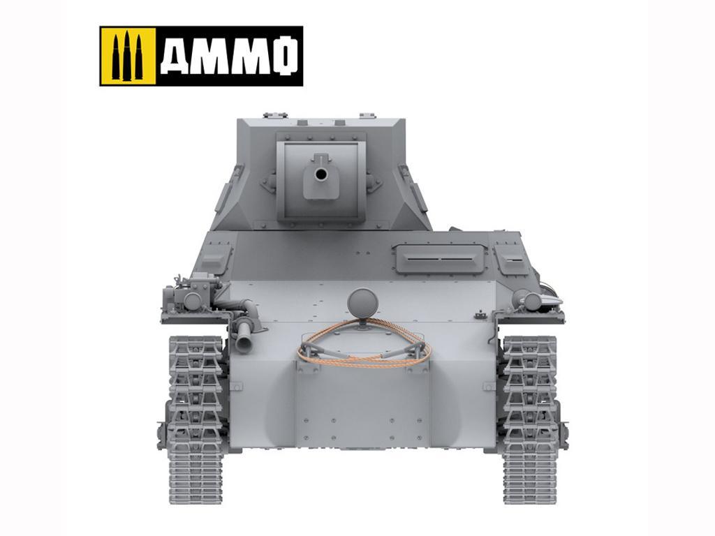 Panzer I Ausf. A Breda, tanque ligero de la Guerra Civil Española (Vista 15)