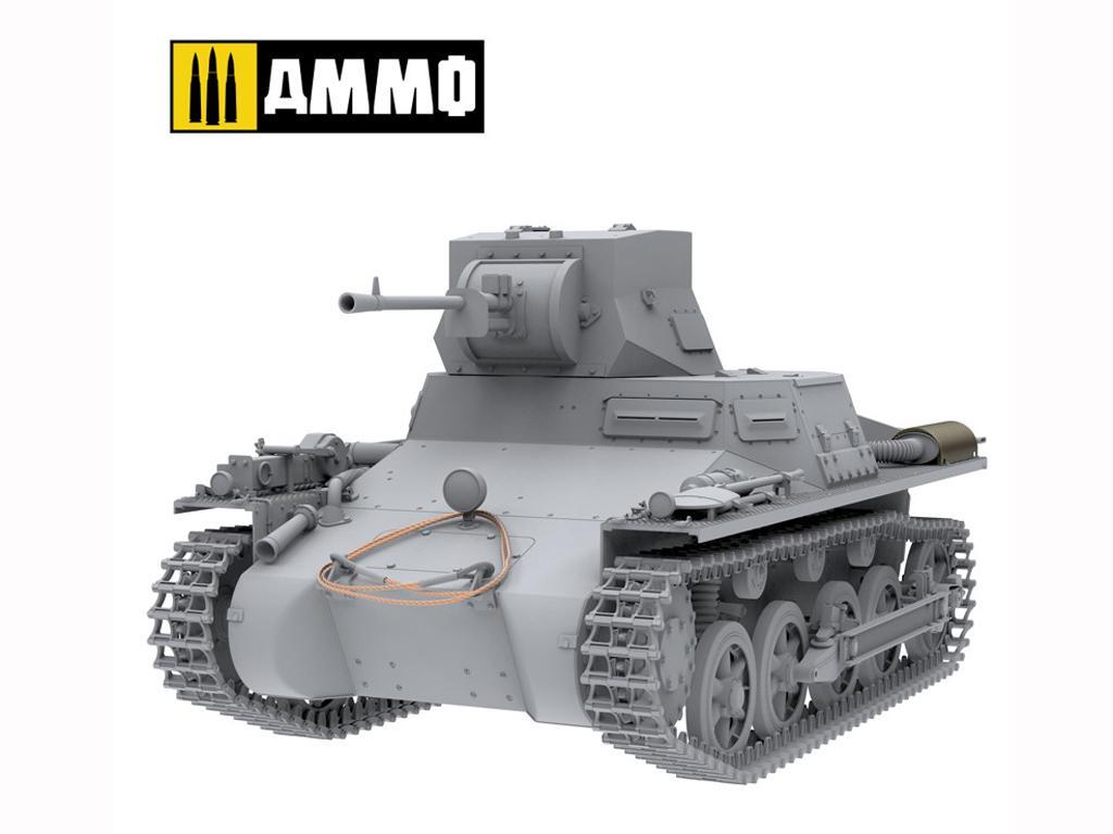 Panzer I Ausf. A Breda, tanque ligero de la Guerra Civil Española (Vista 16)
