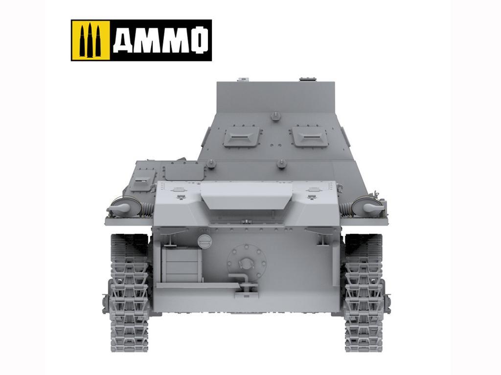 Panzer I Ausf. A Breda, tanque ligero de la Guerra Civil Española (Vista 17)