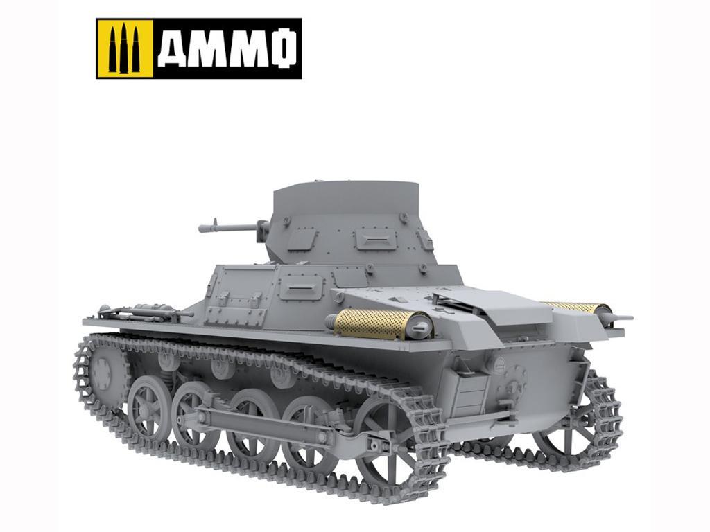 Panzer I Ausf. A Breda, tanque ligero de la Guerra Civil Española (Vista 19)