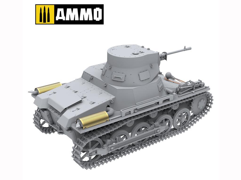Panzer I Ausf. A Breda, tanque ligero de la Guerra Civil Española (Vista 2)