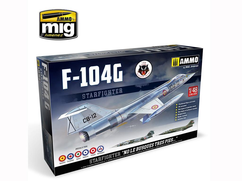 F-104 G Starfighter (Vista 1)