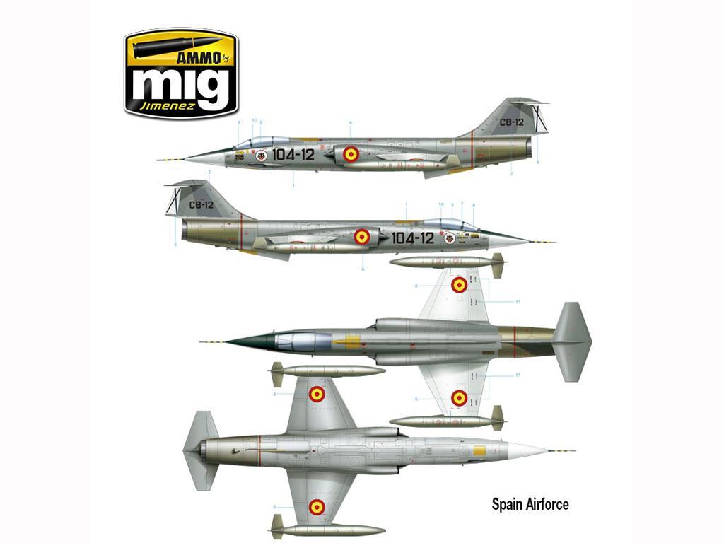 F-104 G Starfighter (Vista 10)