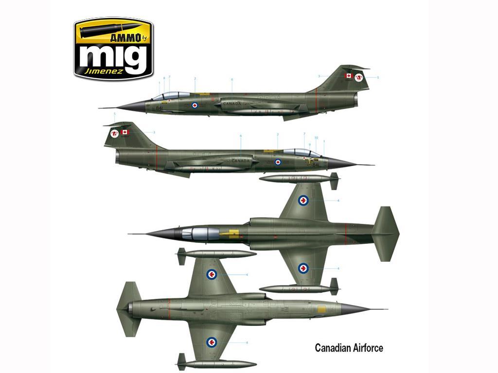 F-104 G Starfighter (Vista 12)