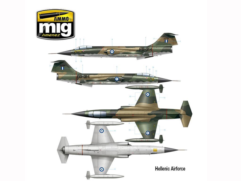 F-104 G Starfighter (Vista 13)