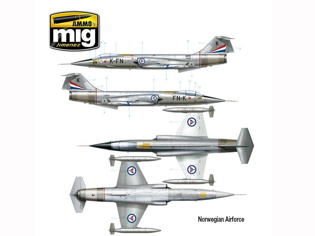 F-104 G Starfighter (Vista 15)