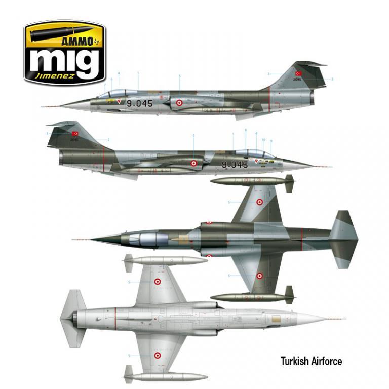 F-104 G Starfighter (Vista 2)