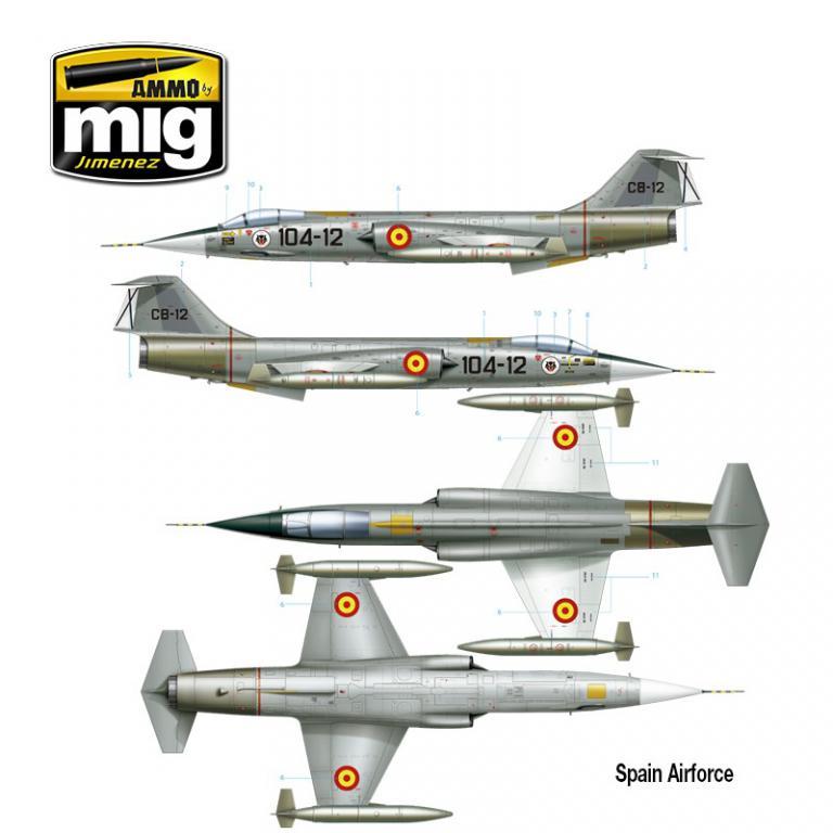 F-104 G Starfighter (Vista 3)
