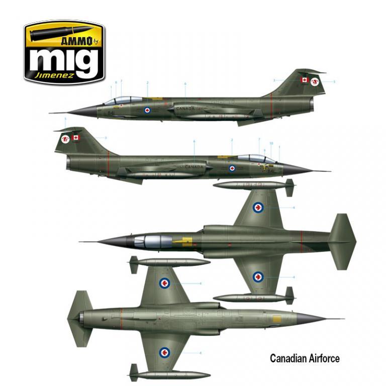 F-104 G Starfighter (Vista 5)