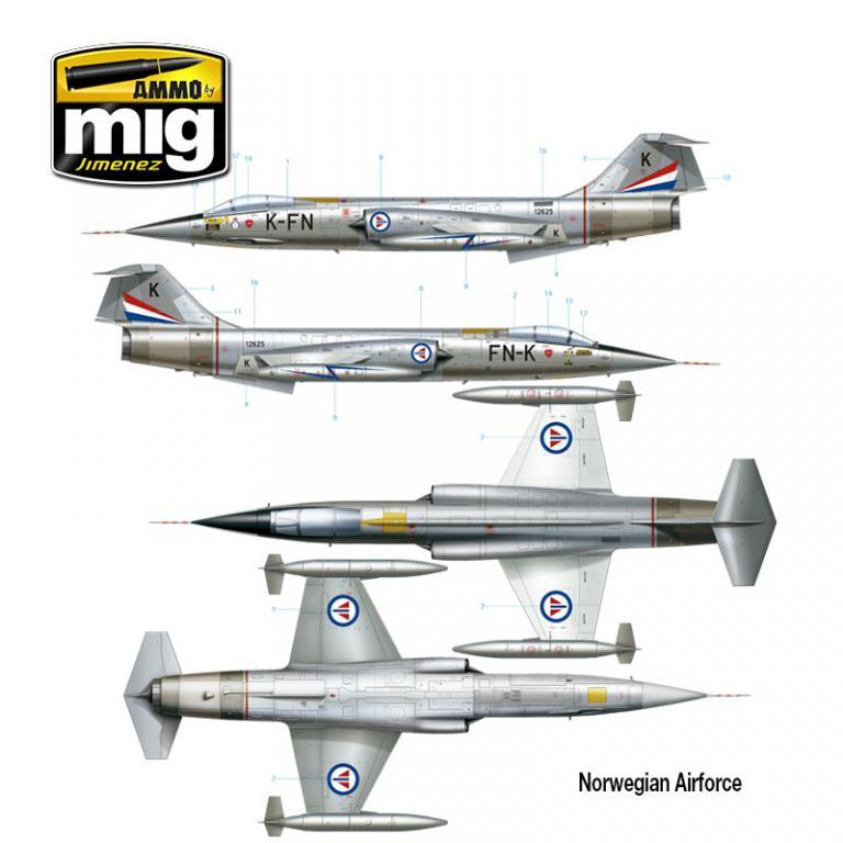 F-104 G Starfighter (Vista 8)