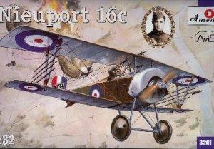 Nieuport 16c Royal Flyng Corps 1916  (Vista 1)