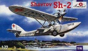 Sh-2 Hydroavion Sovietique 1938  (Vista 1)