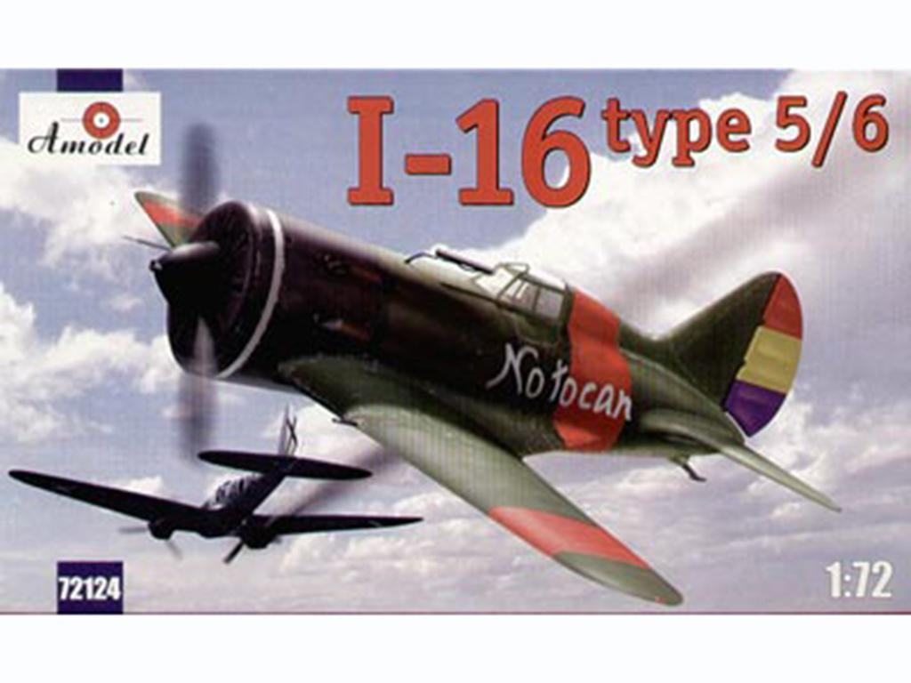 Polikarpov I-16 type 5/6  (Vista 1)