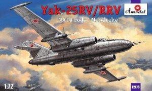 Yak-25 Yakovlev  (Vista 1)