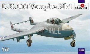 De Havilland 100 Vampire MK1  (Vista 1)
