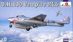 De Havilland 100 Vampire MK6  (Vista 1)