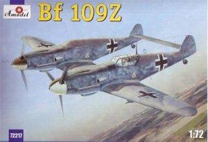 Messerschmitt Bf-109Z Zwilling  (Vista 1)