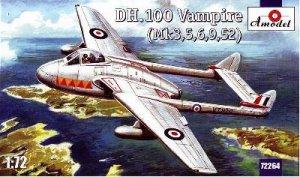 De Havilland Vampire DH100  (Vista 1)