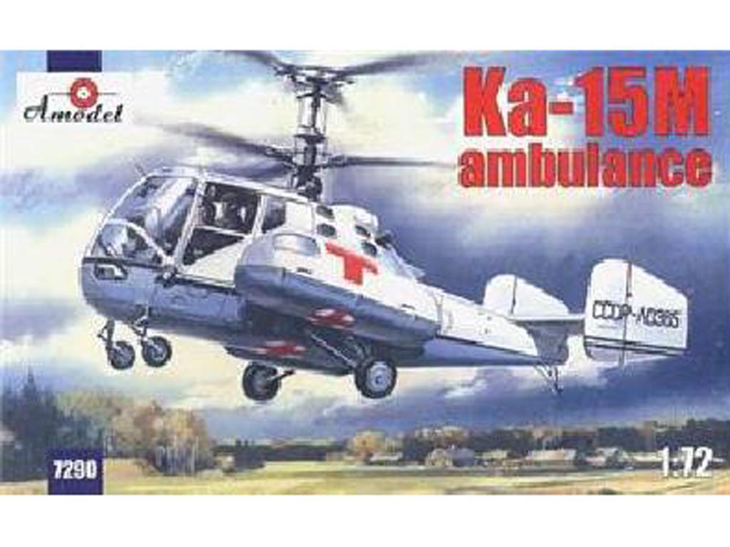 Kamov Ka-15M Ambulancia (Vista 1)