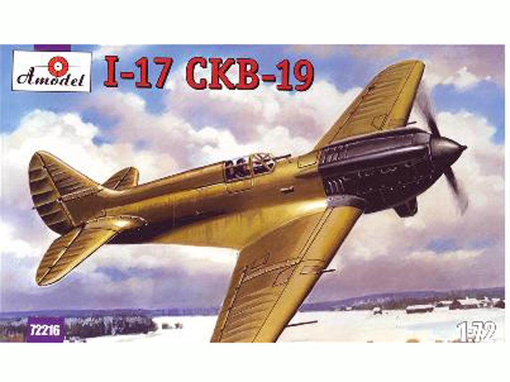 Polikarpov I-17  (Vista 1)