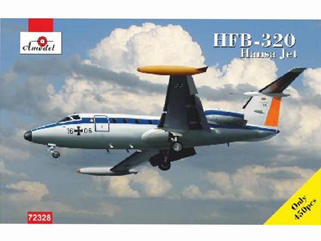 HANSA HFB-320 VIP Luftwaffe (Vista 1)