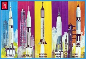 Man In Space Rocket Set  (Vista 1)