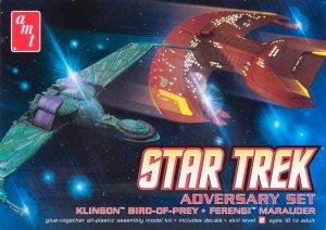 Klingon Bird-of-Prey and Ferengi Maraude  (Vista 1)