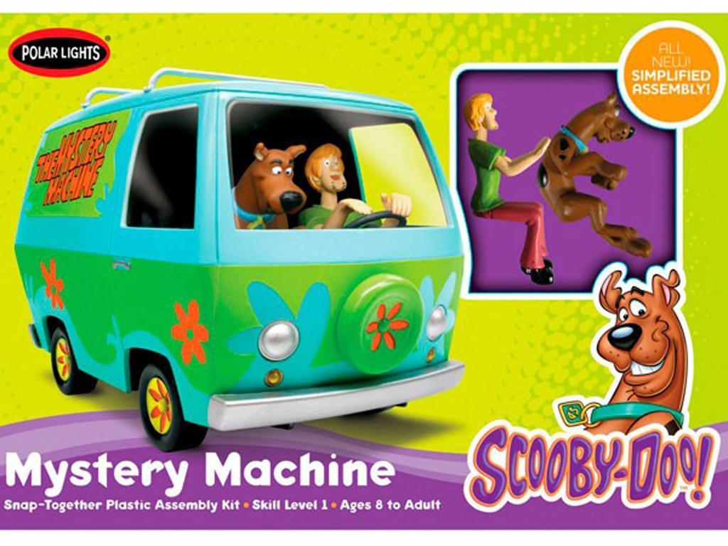 Furgoneta Scooby-Doo (Vista 1)