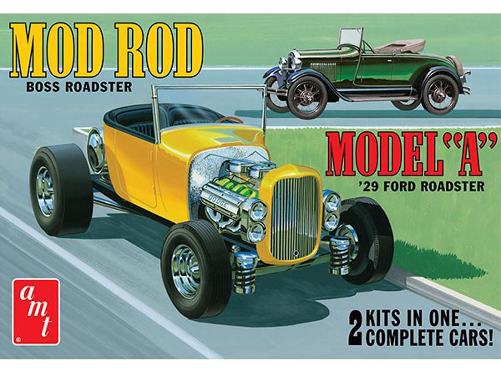 Ford Model A Roadster 1929 (Vista 1)