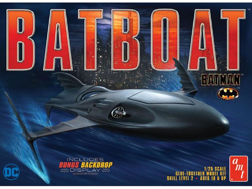Batman Batboat (Vista 1)
