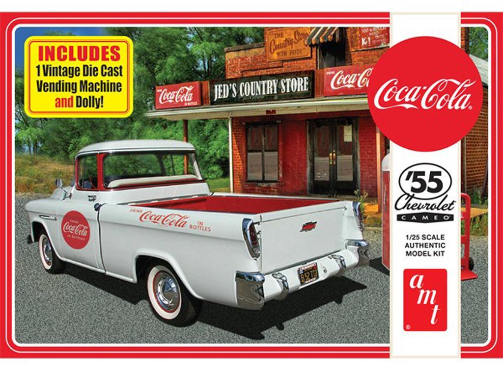 Chevy Cameo Pick-up Coca Cola 1955 (Vista 1)