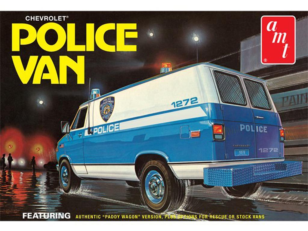 Furgoneta Chevy Police NYPD (Vista 1)